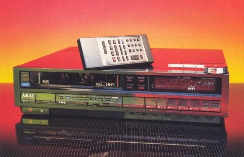 akai vs 565u vhs hi fi videocassete recorder review price specs hi rh hifi classic net Akai VCR Tape Akai VCR Tape