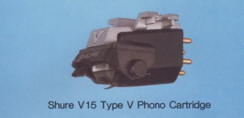Shure V15 Type V Phono cartridge Review price specs - Hi-Fi